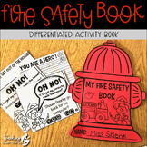 Fire Safety Activity Book