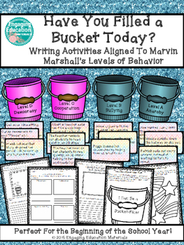 Have You Filled a Bucket Today? Aligned to Marvin Marshall