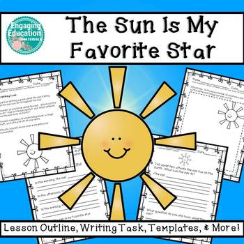 The Sun Is My Favorite Star – Writing Activity