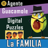 Digital Games and Activities Spanish Family Vocabulary. La