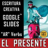 Spanish Regular Present AR Verbs. DIGITAL Games & Writing