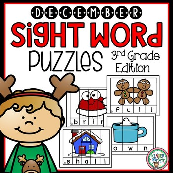Sight Words Kindergarten | Sight Word Centers December