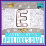 April Fool's Day Speech Therapy Craftivity