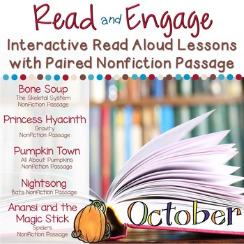 Interactive Read Aloud Lessons and Paired Nonfiction Passages October