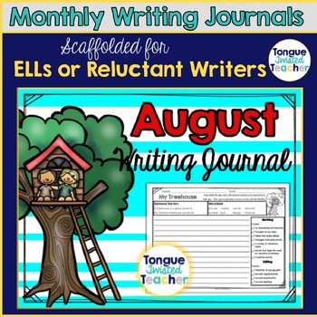 August Monthly Writing Journal