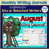 August Writing Journal Daily Writing Prompts for the Month