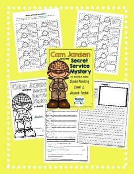 Cam Jansen and the Secret Service Mystery by David A. Adler, Student Packet