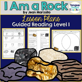 I Am a Rock by Jean Marzollo, Guided Reading Lesson Plan, Level I