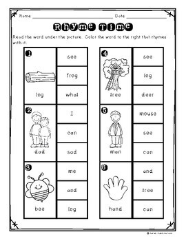 In the Woods by Akimi Gibson, Guided Reading Lesson Plan,  Level A