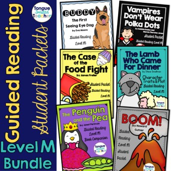 Level M Guided Reading Student Packet Bundle