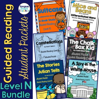 Level N Guided Reading Student Packet Bundle