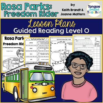 Rosa Parks Freedom Rider by Keith Brandt & Joanne Mattern Book Companion