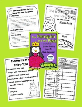 The Penguin and the Pea by Janet Perlman, Level M, Student Packet