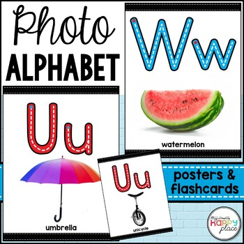 Alphabet Posters with Photos