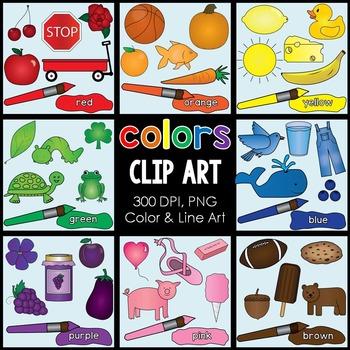Colors Clip Art