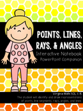 Points, Lines, Rays, & Angles Interactive Notebook