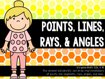 Points, Lines, Rays, & Angles PowerPoint