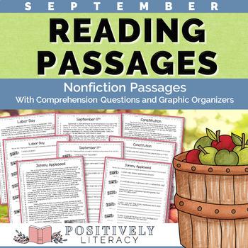 September Reading Passages - Nonfiction Text & Questions