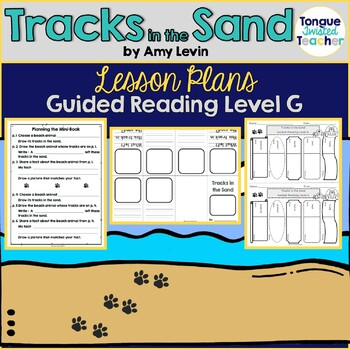 Tracks in the Sand by Amy Levin Guided Reading Lesson Plan Level G