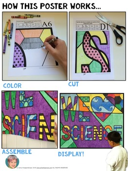 We Heart SCIENCE -  Science Fair Poster