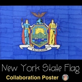 New York State Flag Collaboration Poster