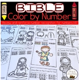 Bible Color by Number
