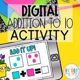 DIGITAL Addition to 10 Activity | Google Classroom Additio