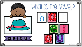 Google Classroom Kindergarten Vowel Sounds