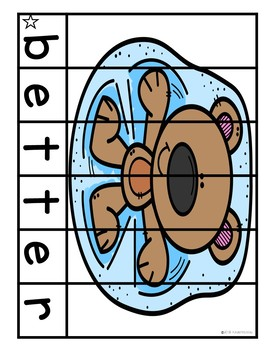 January Sight Word Puzzles (3rd Grade)