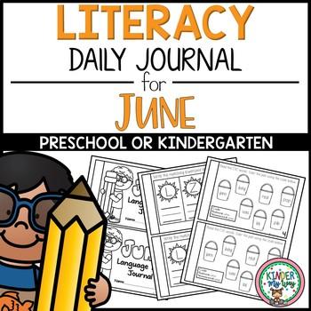 June Literacy Journal - June