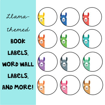 Llama classroom decor editable labels and templates by the seeds llama classroom decor editable labels and templates pronofoot35fo Images