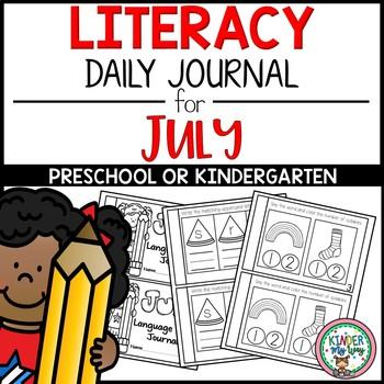 Preschool Literacy Journal July