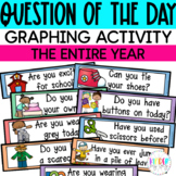 Question of the Day for Preschool and Kindergarten | Morning Meeting Graphing
