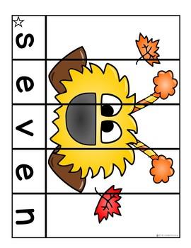 Sight Words Kindergarten   Sight Word Centers September