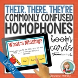 Their, There, They're Homophones Boom Cards