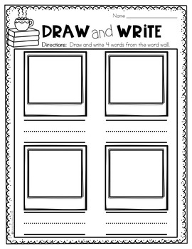 Winter Word Wall Activities | Word Wall Activities