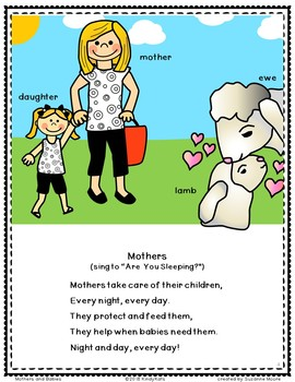 Mothers and Babies: Songs & Rhymes