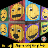 Emoji Agamographs +  Emoji Writing | Fun Beginning of the Year Activity!