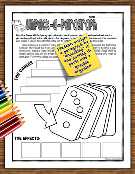 Informational Text Structure (Nonfiction Structure)Practice Packet—September Ed.