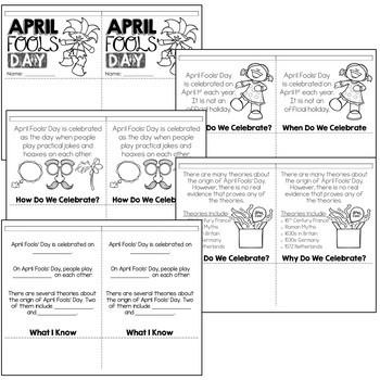 April Fools' Day Activity