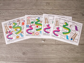 Articulation and Language Slides and Ladders Bundle