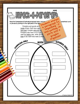Informational (Nonfiction) Text Structure Practice Packet—October Edition