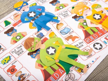 Articulation & Language Build A Superhero Bundle