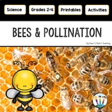 Bees and Pollination Activity Pack and Life Cycle of a Bee with Fun Bee Craft