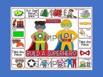 Language Build A Superhero Game