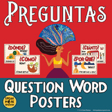Spanish Question Word Posters. Interrogatives with a touch