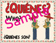 Spanish Question Word Posters. Interrogatives with a touch of Spanish Culture!