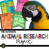 Animal Research Lapbook and Activities Bundle