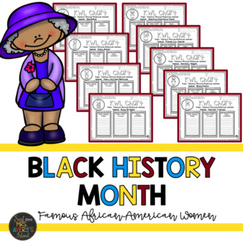 Black History Month Activities and Flip Book