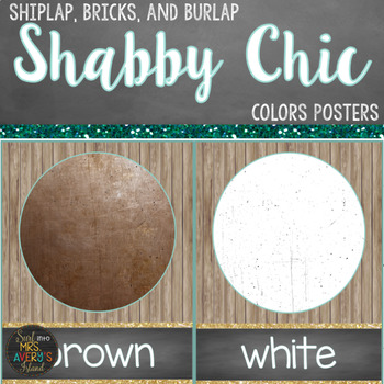 Farmhouse Colors Posters